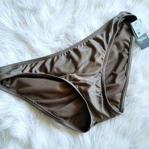 Mossimo Hipster Chocolate Brown Bikini Swimwear